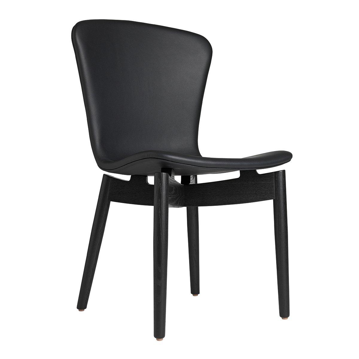 Mater Shell Dining Chair Eetkamerstoel - Ultra Black/Zwart Gebeitst
