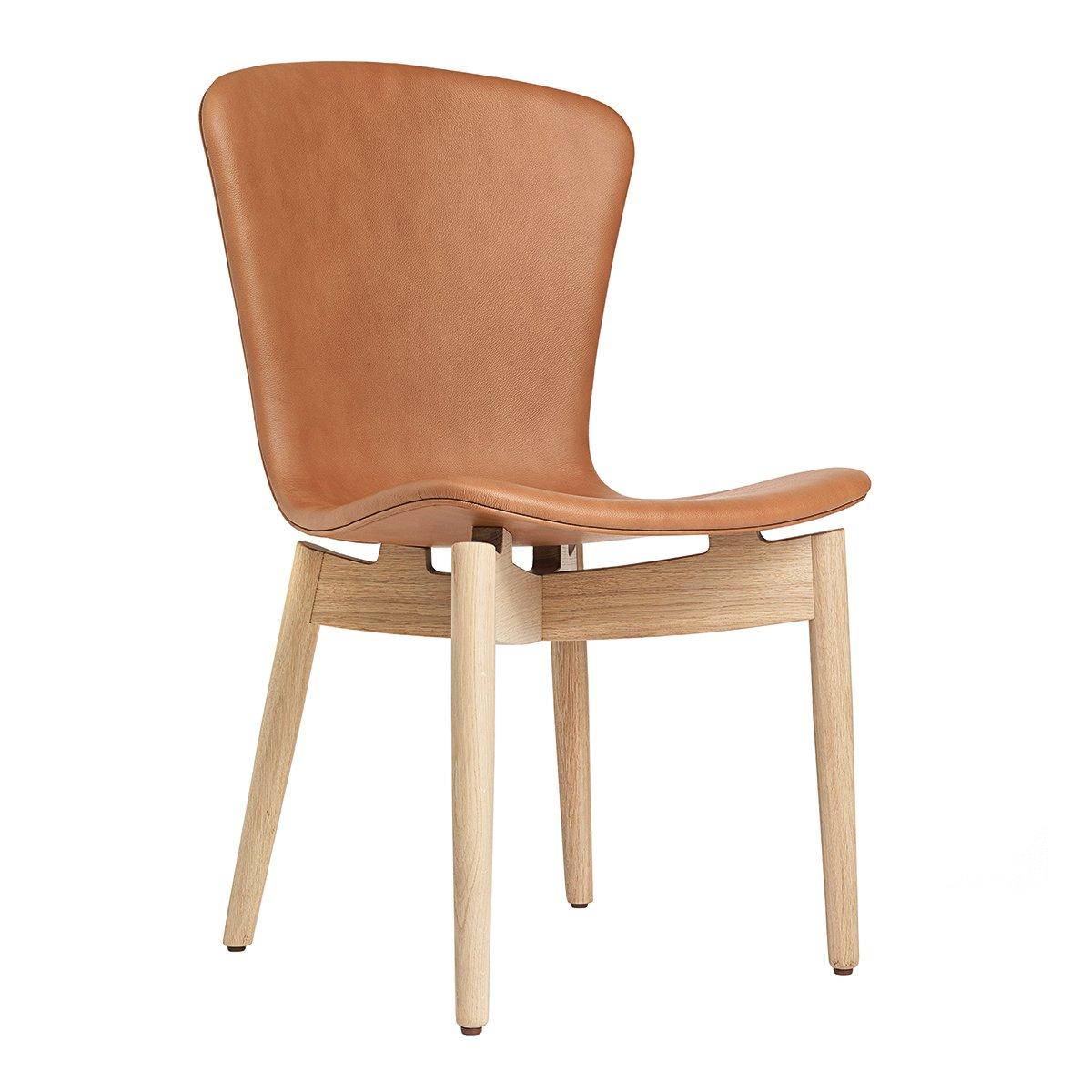 Mater Shell Dining Chair Eetkamerstoel - Ultra Brandy/Mat Gelakt