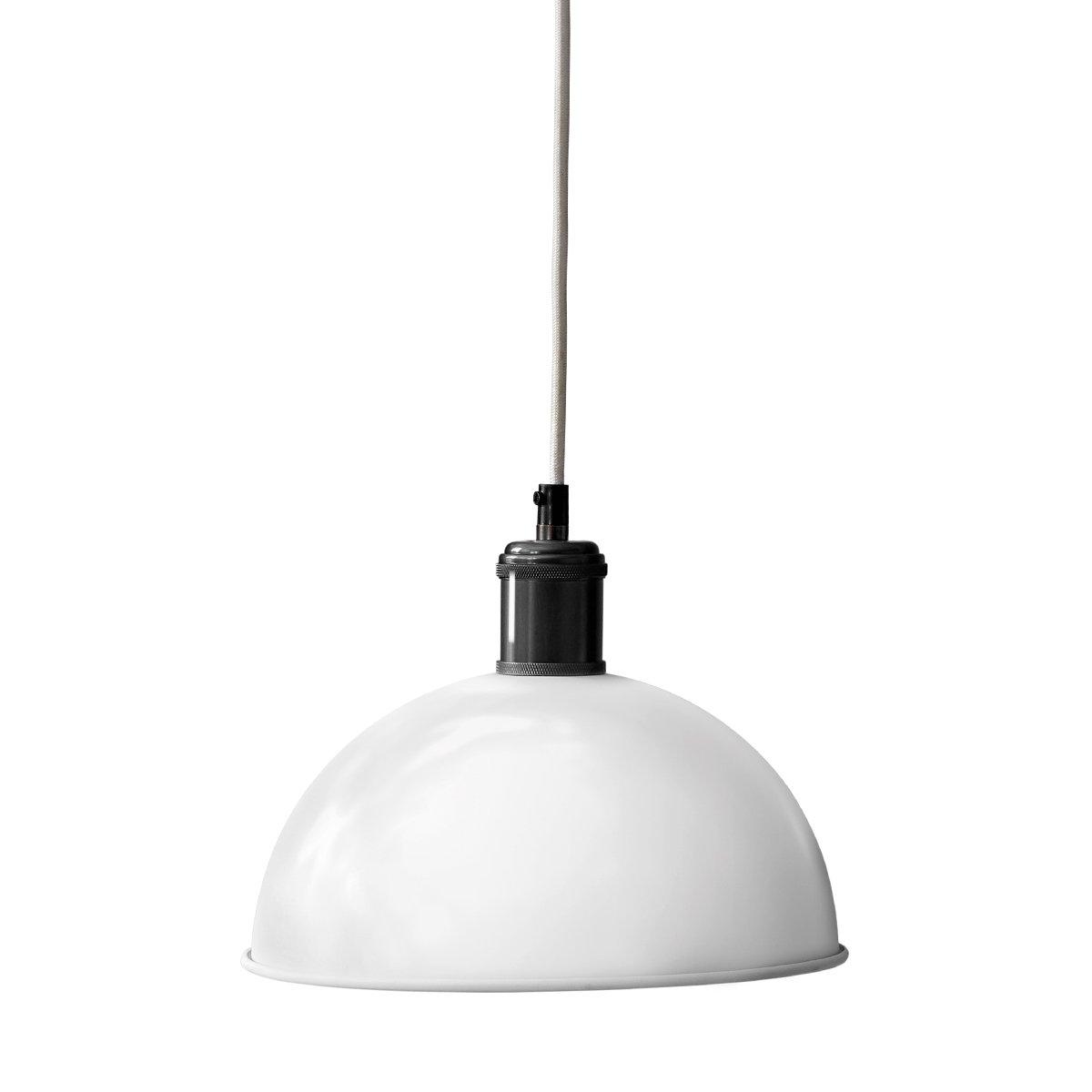 Menu Hubert Hanglamp Ivoor - Gebronsd Messing - �24 cm.