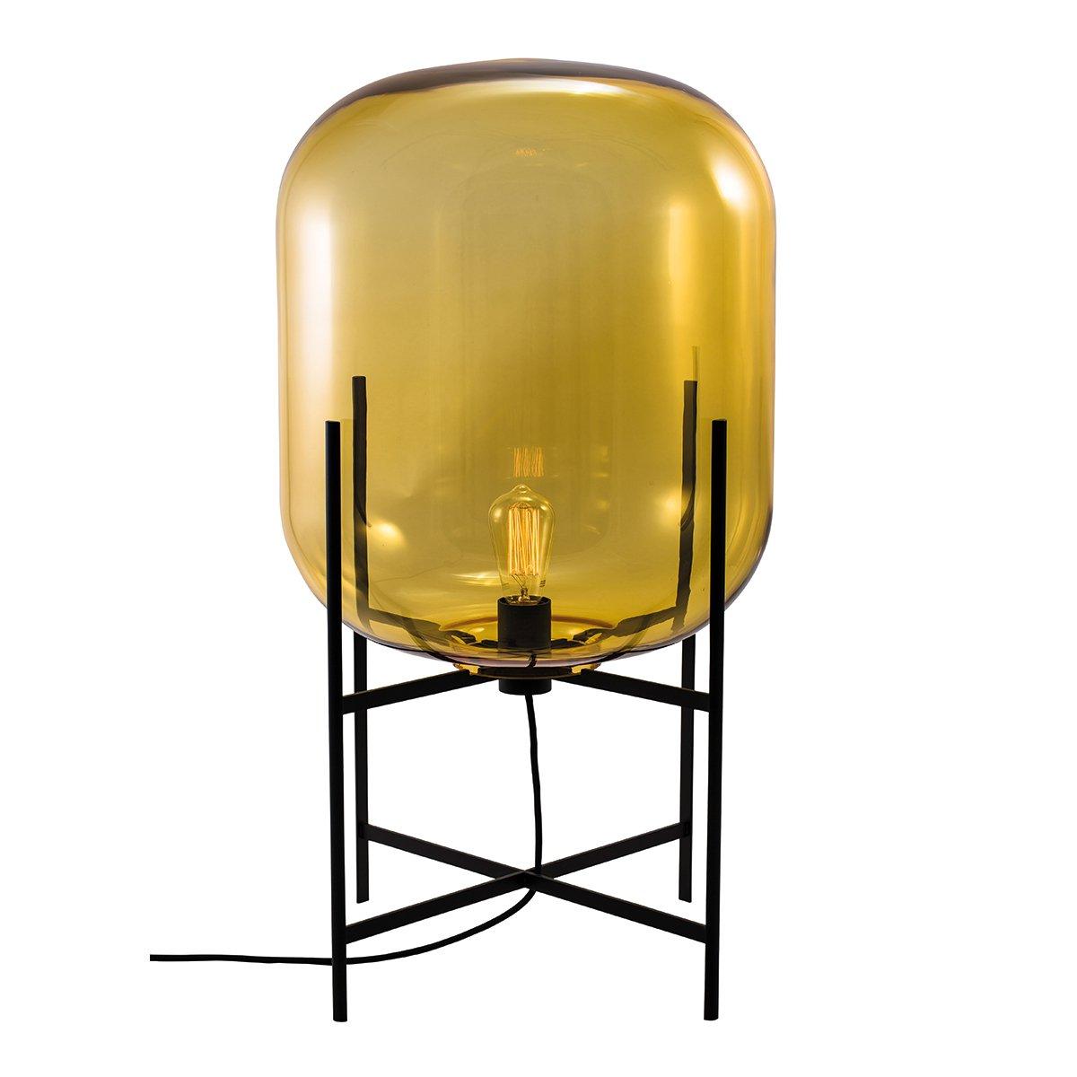 Pulpo Oda Vloerlamp Medium (2014) - Amber - Zwart