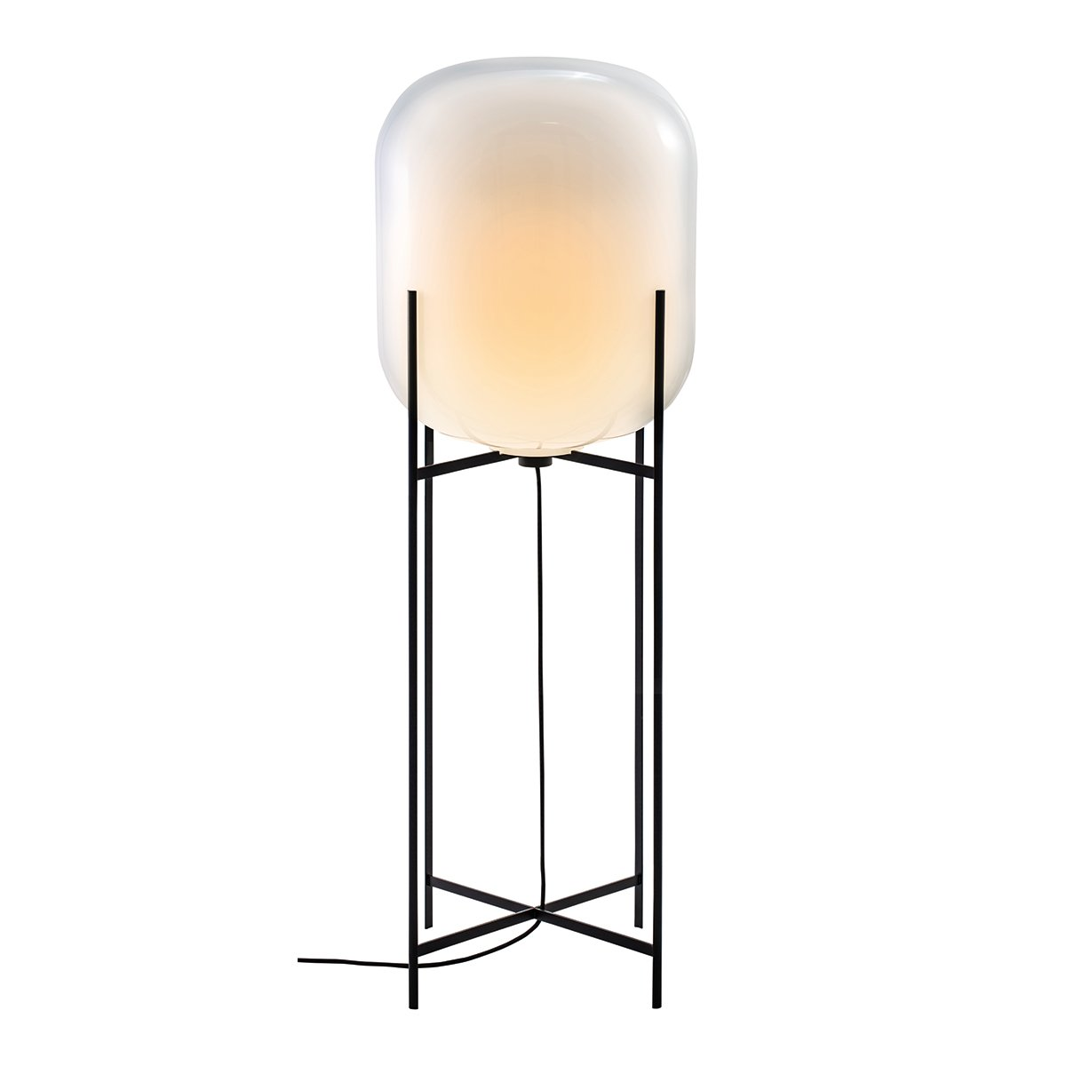 Pulpo Oda Vloerlamp Large (2014) - Wit / Zwart