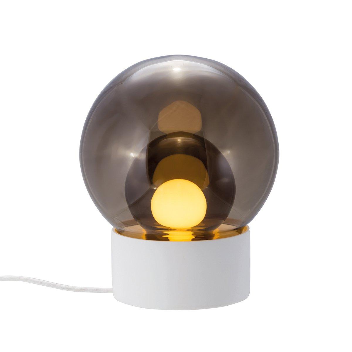 Pulpo Boule Tafellamp Sebastian Herkner - Wit - Smoke Grey