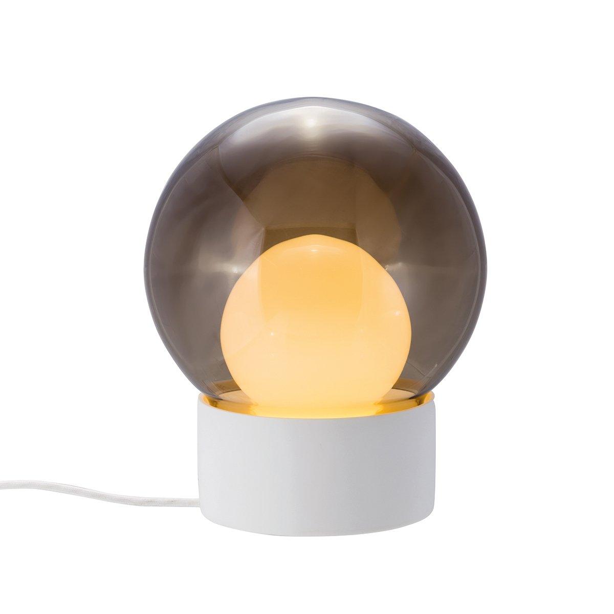 Pulpo Boule Tafellamp Sebastian Herkner - Wit - Smoke Grey - Opaal Wit