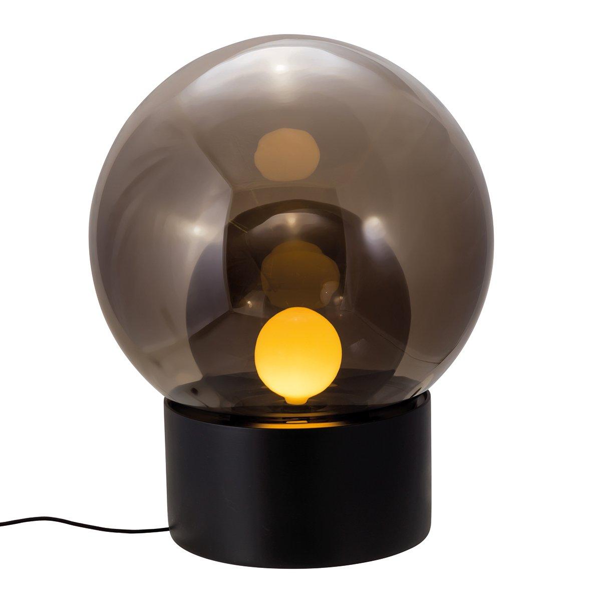 Pulpo Boule Medium Vloerlamp - Zwart - Smoke Grey