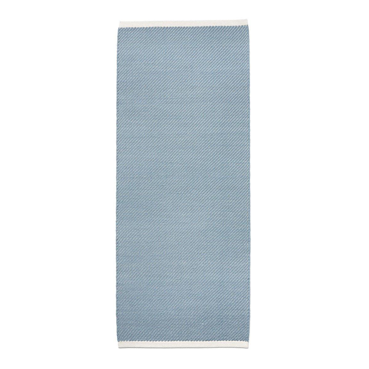 HAY Bias Vloerkleed - Light Blue - 80 x 200 cm.