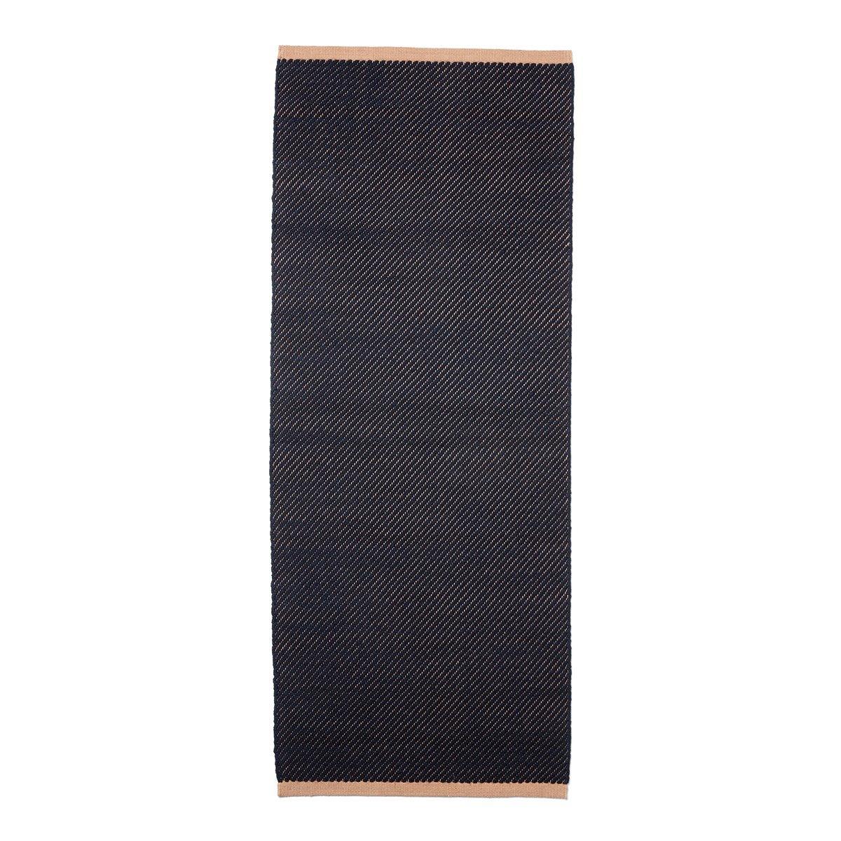 HAY Bias Vloerkleed - Dark Blue - 240 x 170 cm.