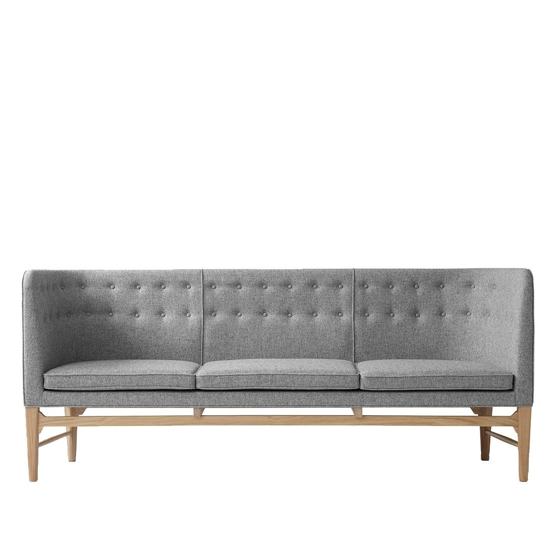 &Tradition Mayor Sofa AJ5 Bank Wit Geolied Eiken Hallingdal 130