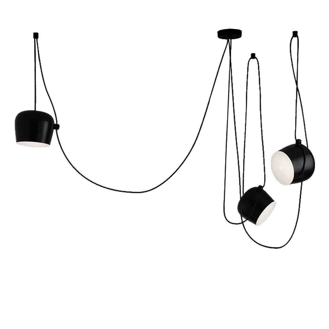 FLOS Aim Hanglamp Set van 3 - Zwart