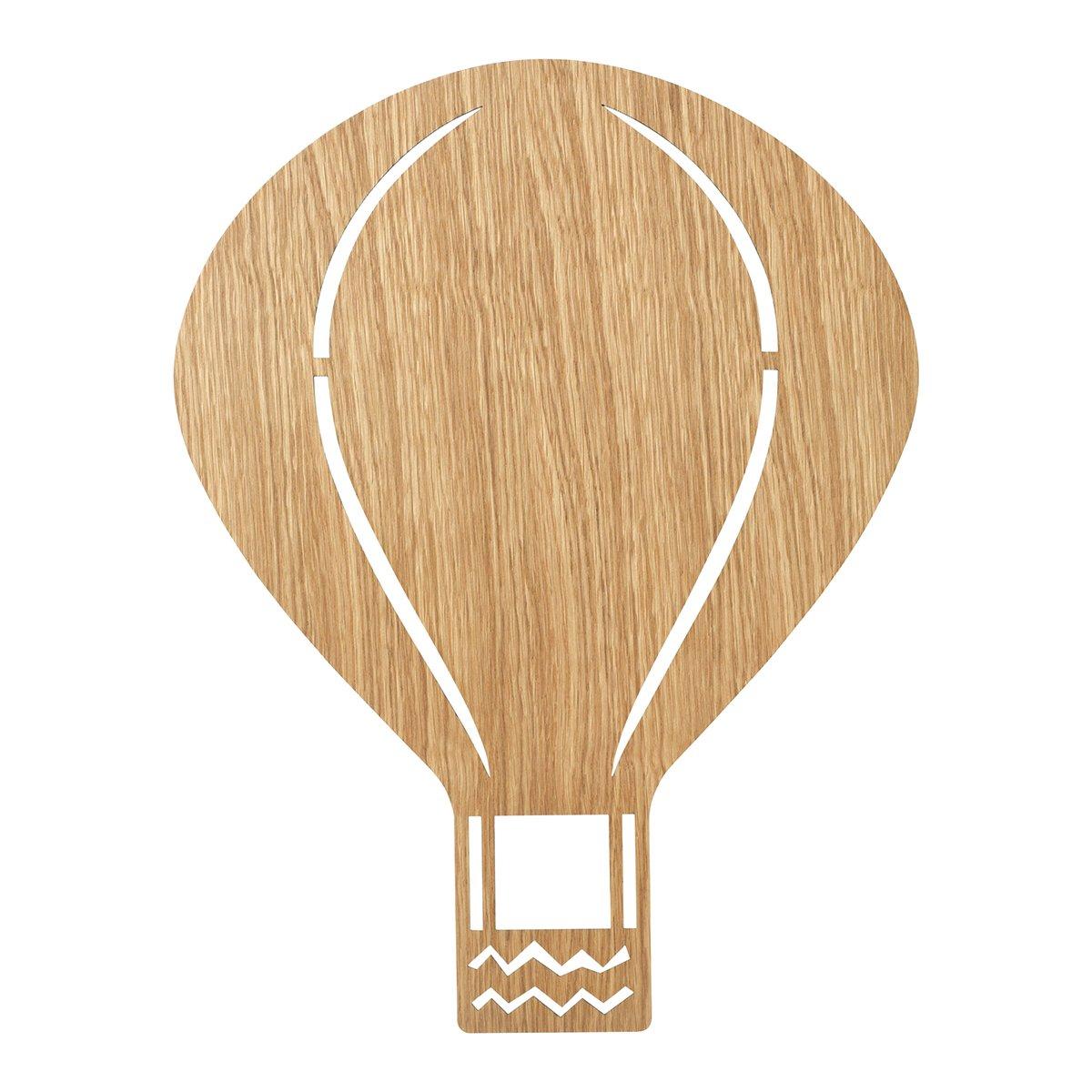 Ferm Living Air Balloon Wandlamp - Geolied Eiken