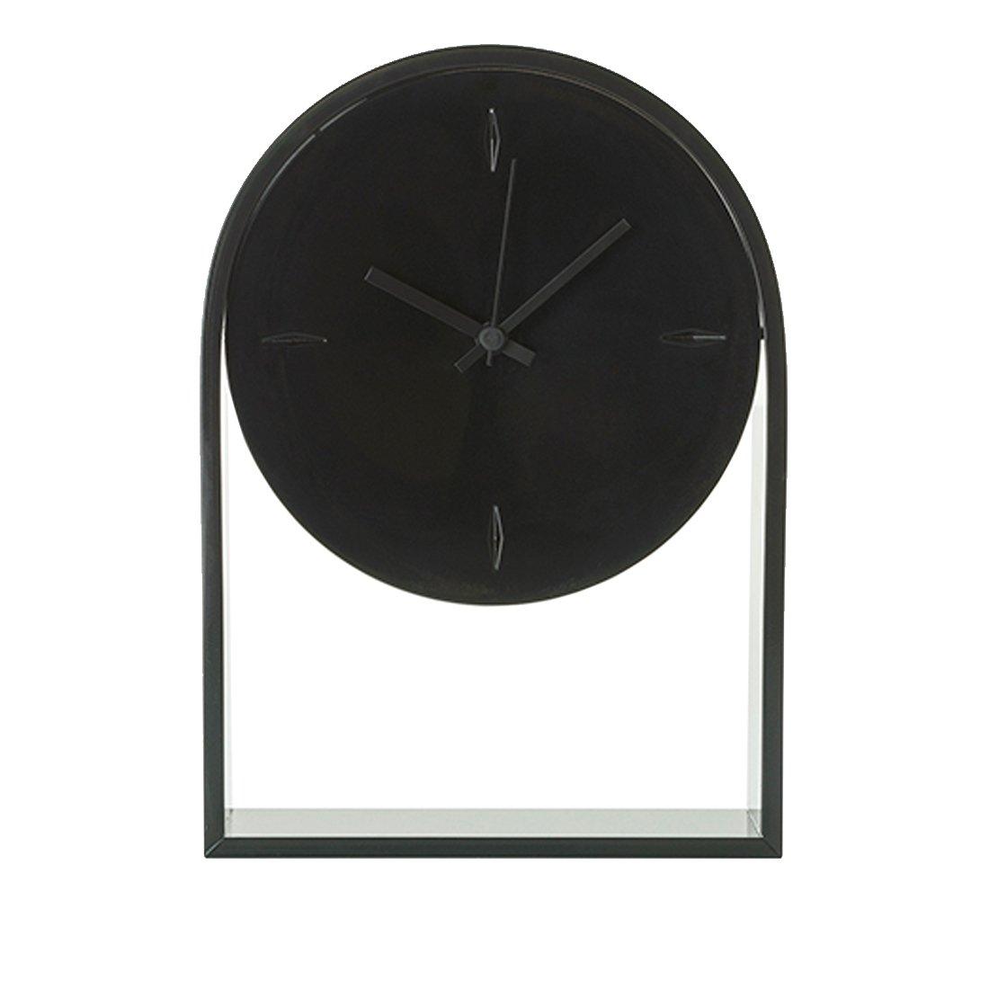 Kartell Air du Temps Klok - Zwart