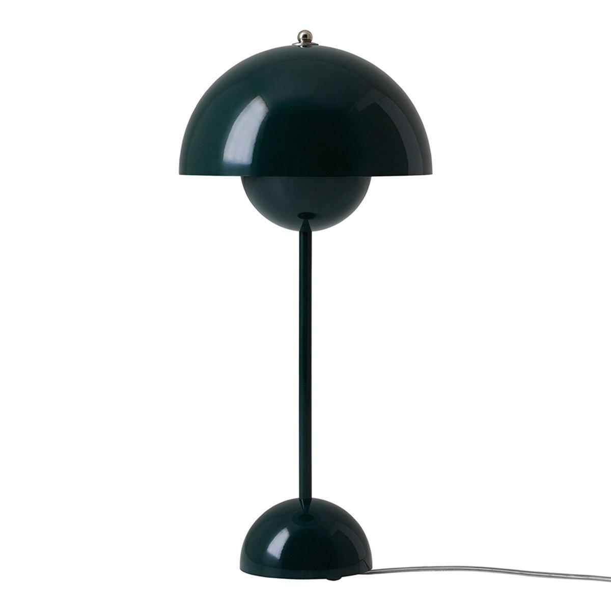 &Tradition Flowerpot VP3 Tafellamp Donkergroen