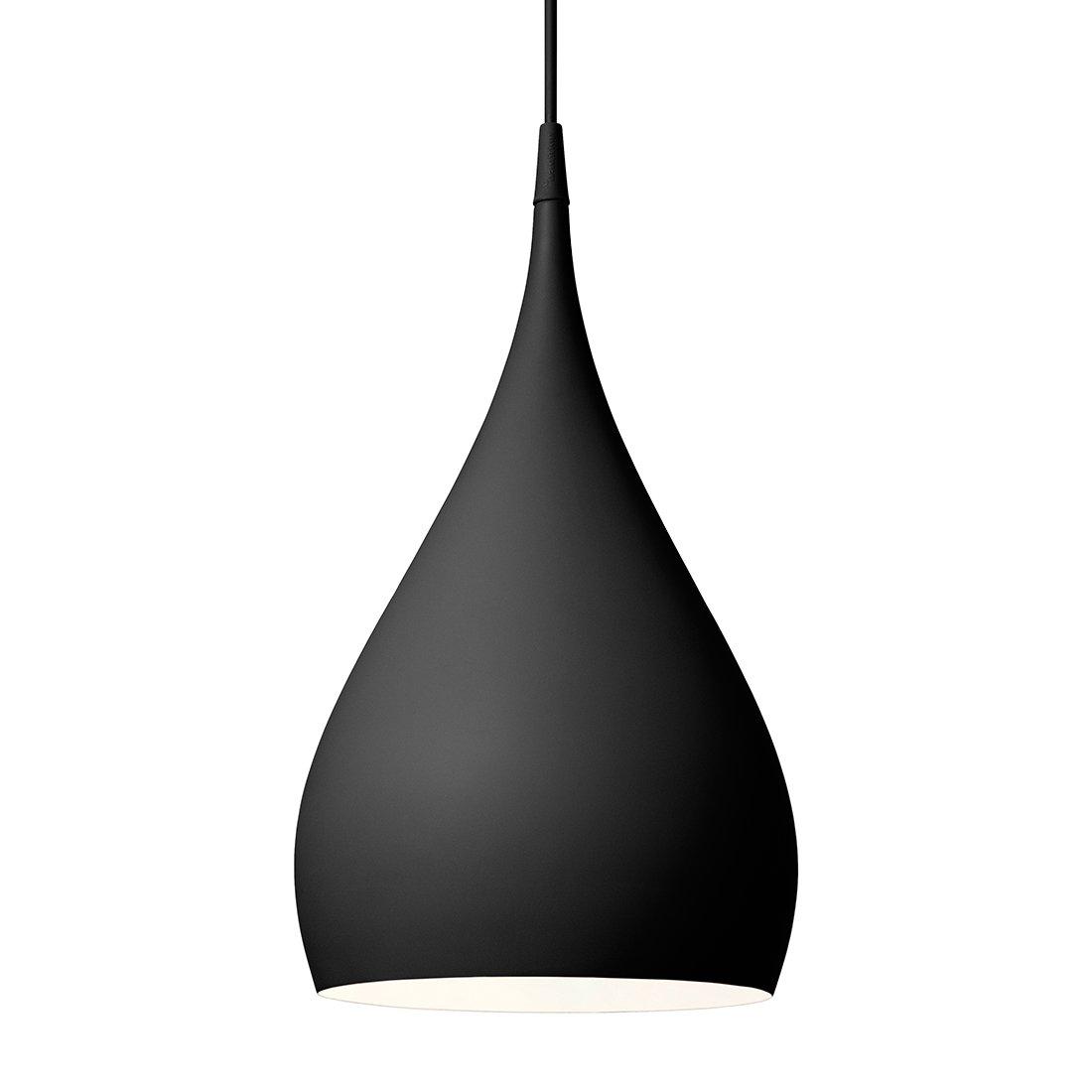 &Tradition Spinning Pendant BH1 Hanglamp Mat Zwart