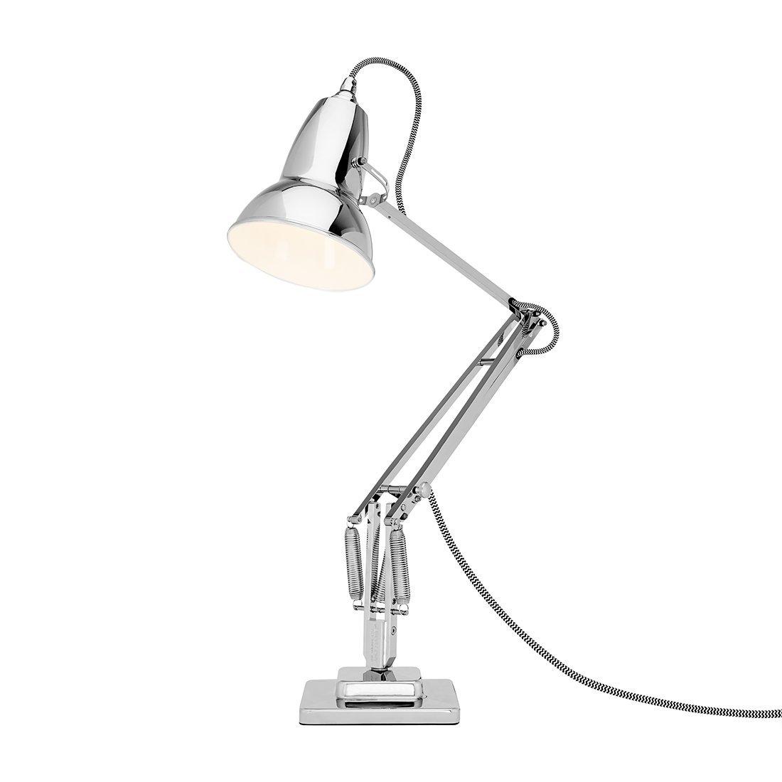 Anglepoise Original 1227 Desk Lamp Bright Chrome Bureaulamp
