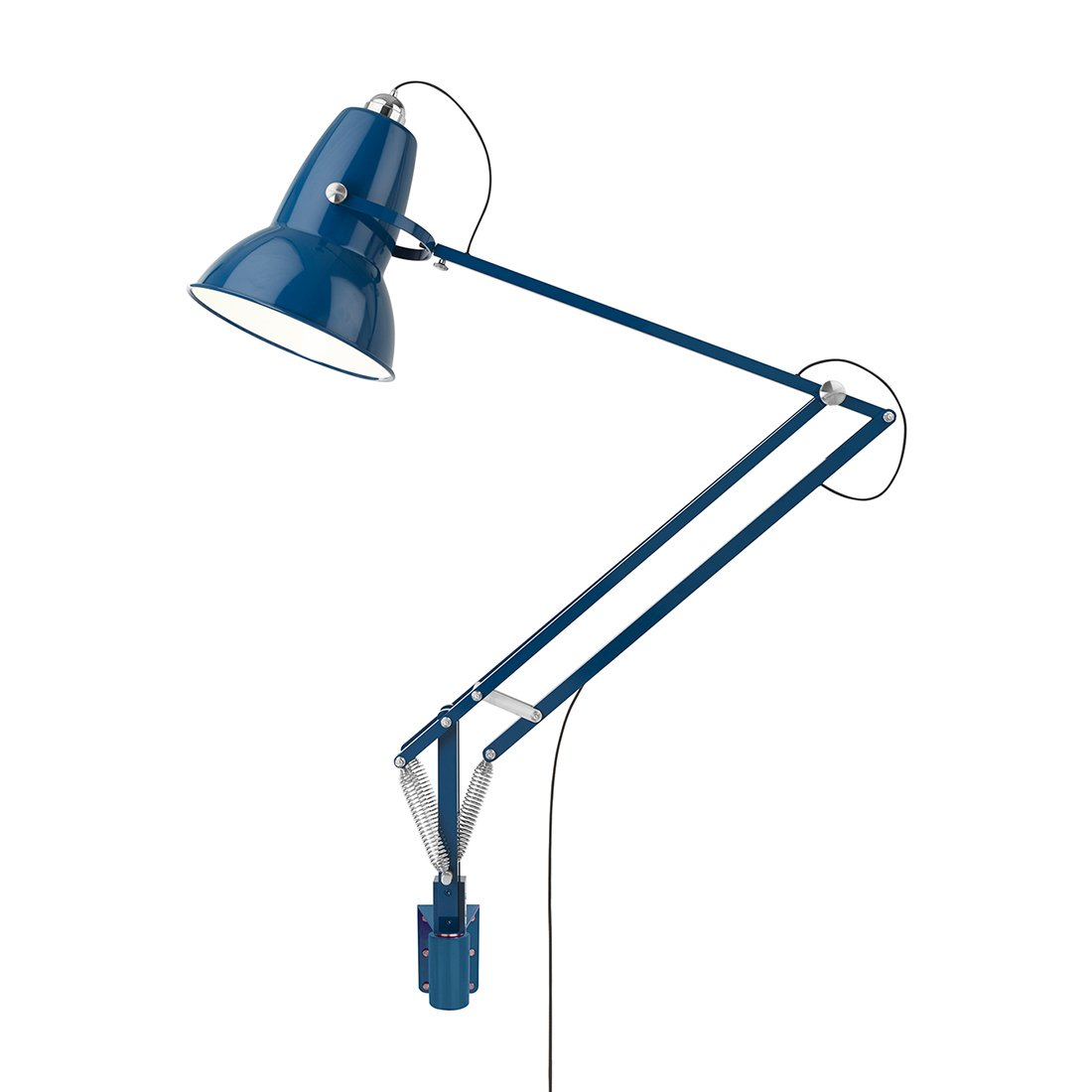 Anglepoise Original 1227 Giant Outdoor Wall Mounted Marine Blue Wandlamp