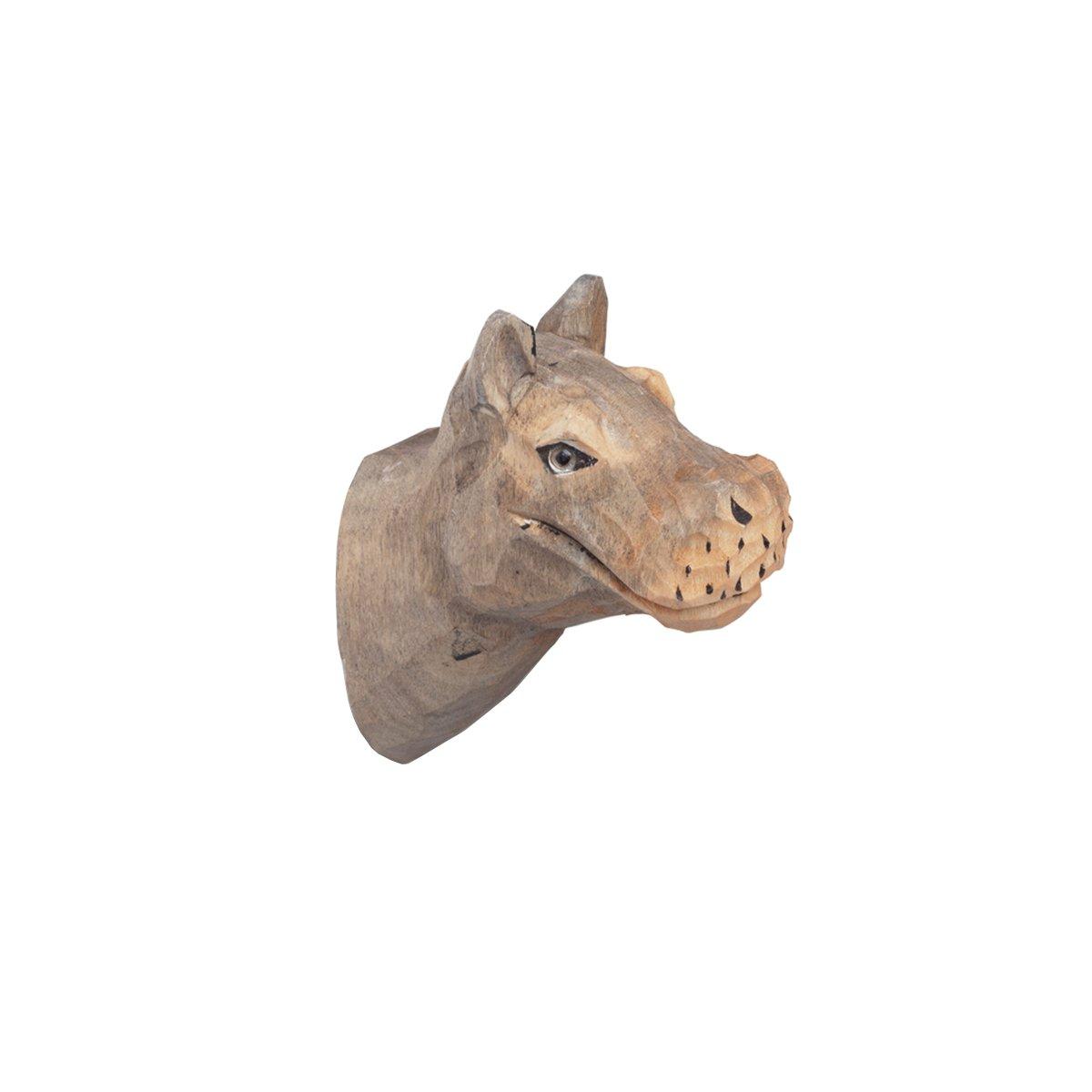 Ferm Living Dieren Wandhaak - Nijlpaard