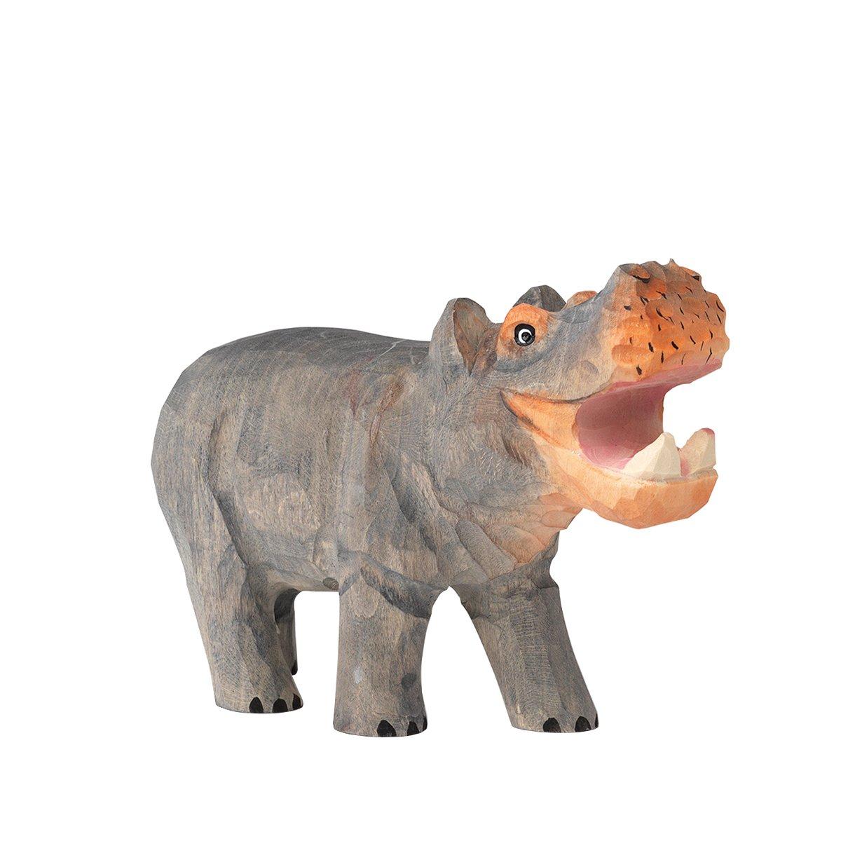 Ferm Living Handgesneden Dier - Nijlpaard