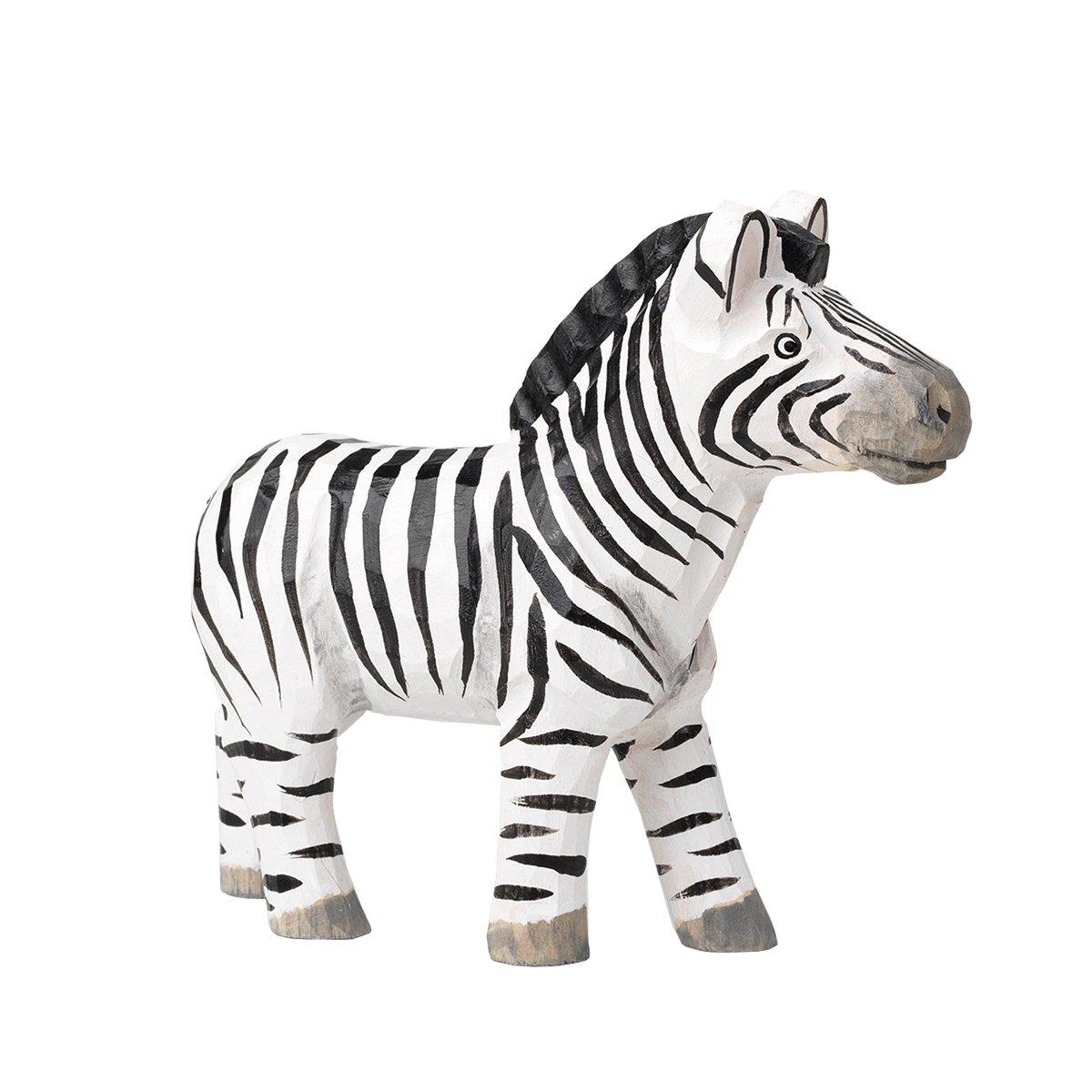 Ferm Living Handgesneden Dier - Zebra