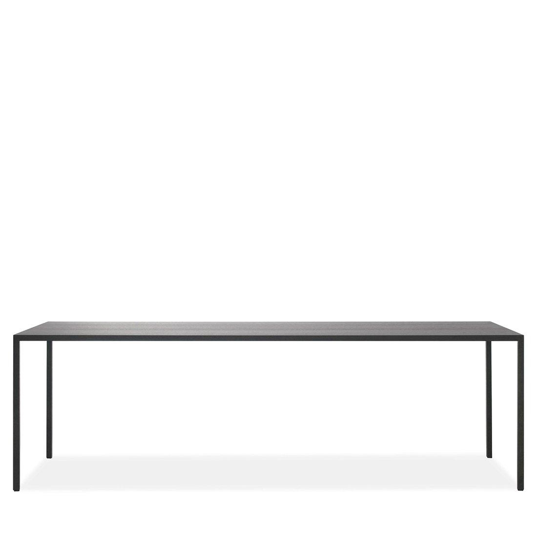 Arco Slim Tafel - 280 x 90 Zwart Eiken