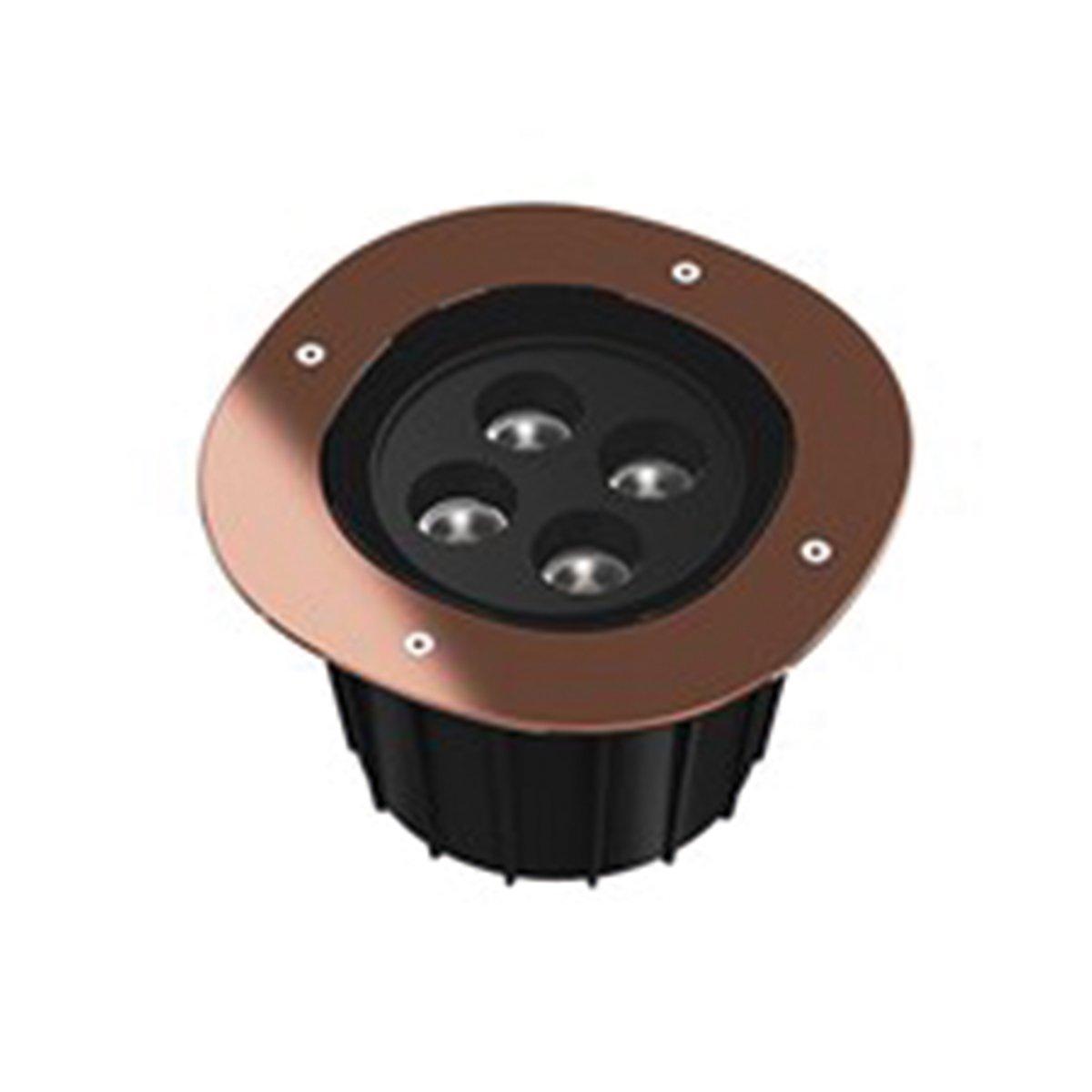 FLOS A-Round 240 Outdoor Vloerlamp - Koper Stralingshoek: 10°
