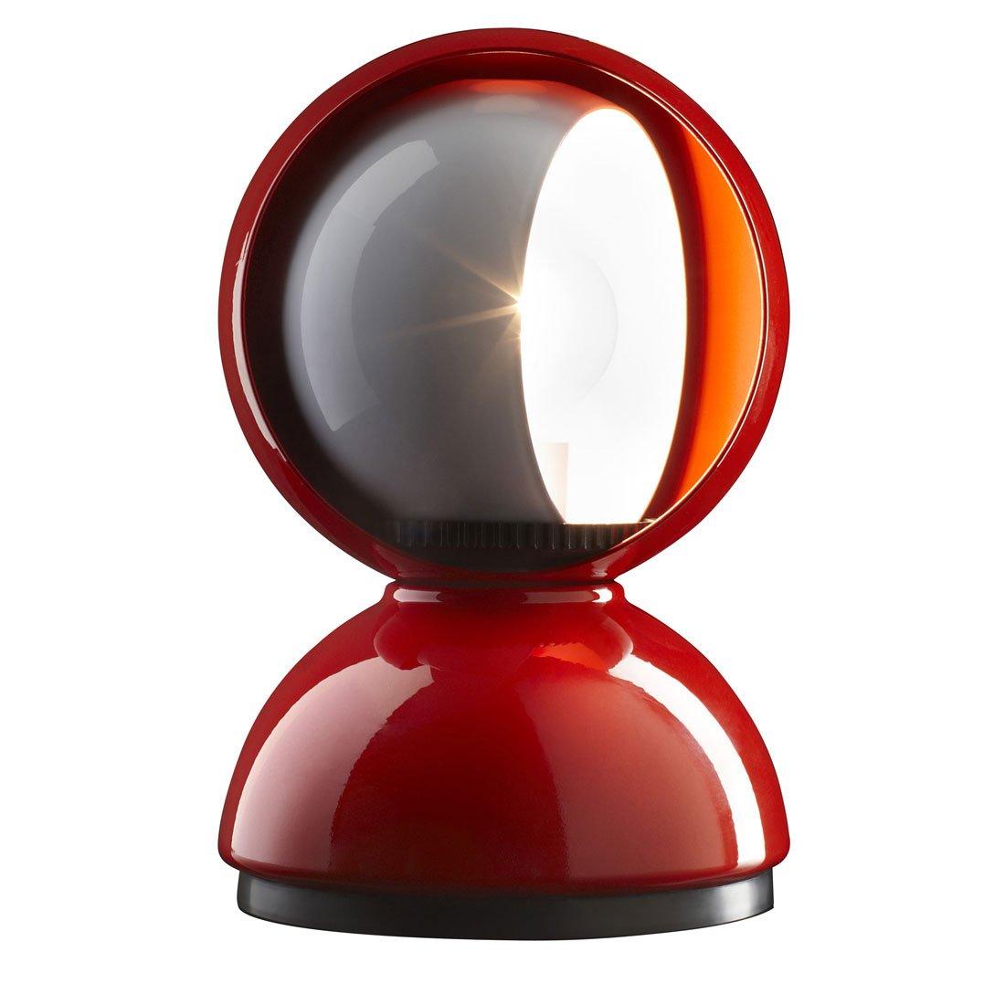 Artemide Eclisse Tafellamp Rood