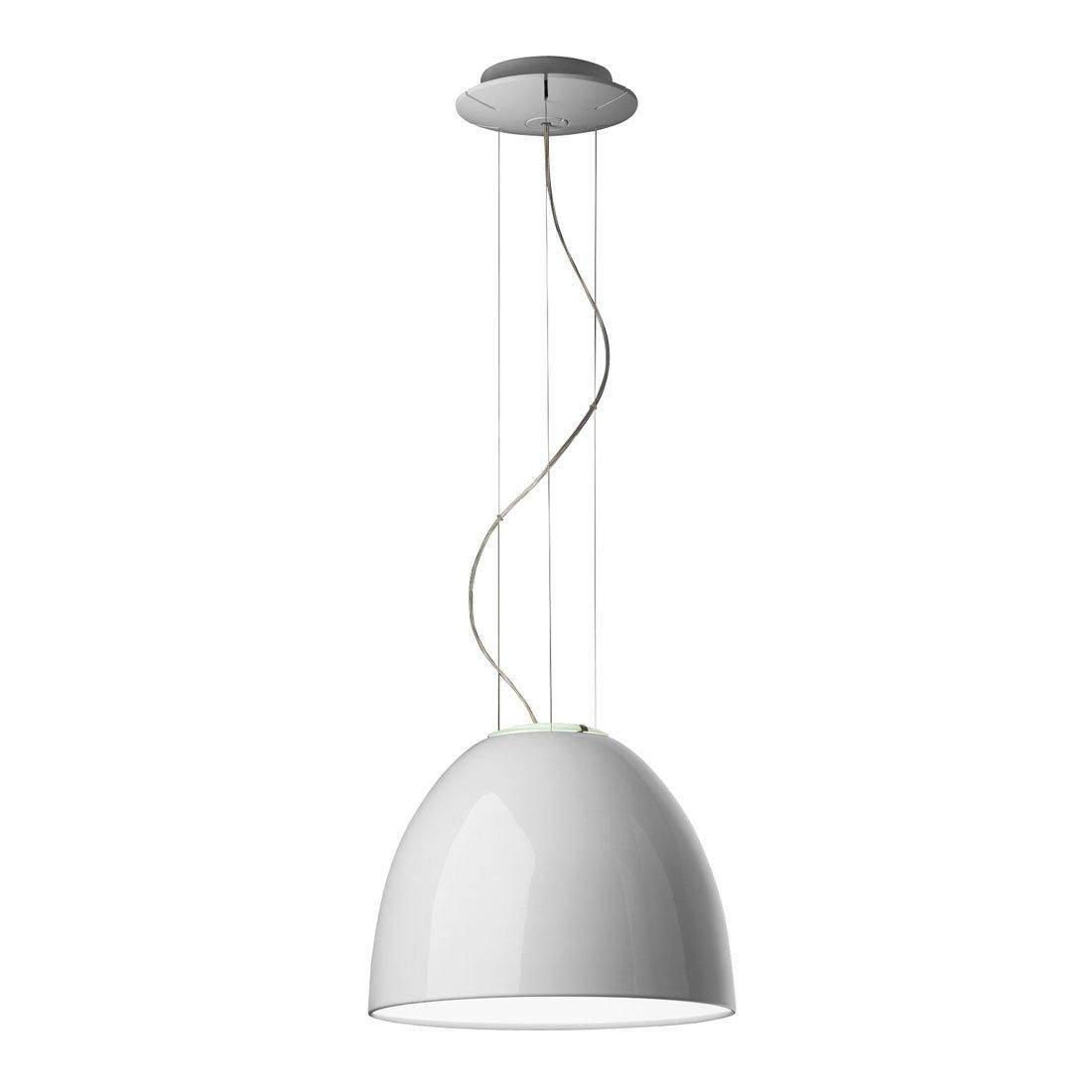 Artemide Nur Mini Gloss Hanglamp Wit