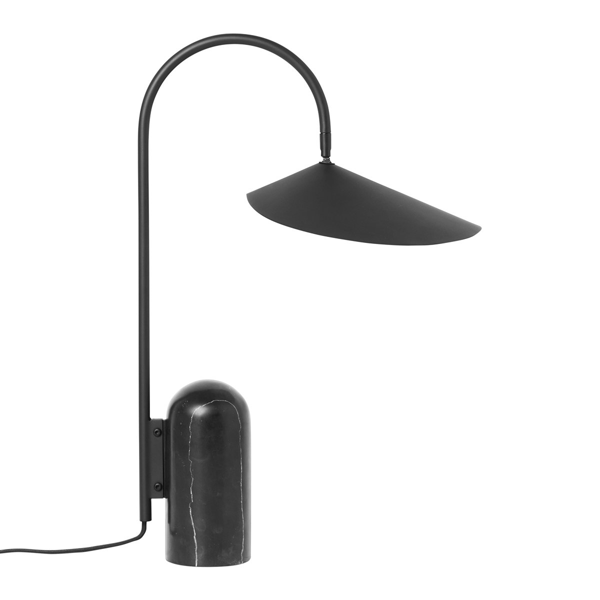 Ferm Living Arum Tafellamp - Zwart