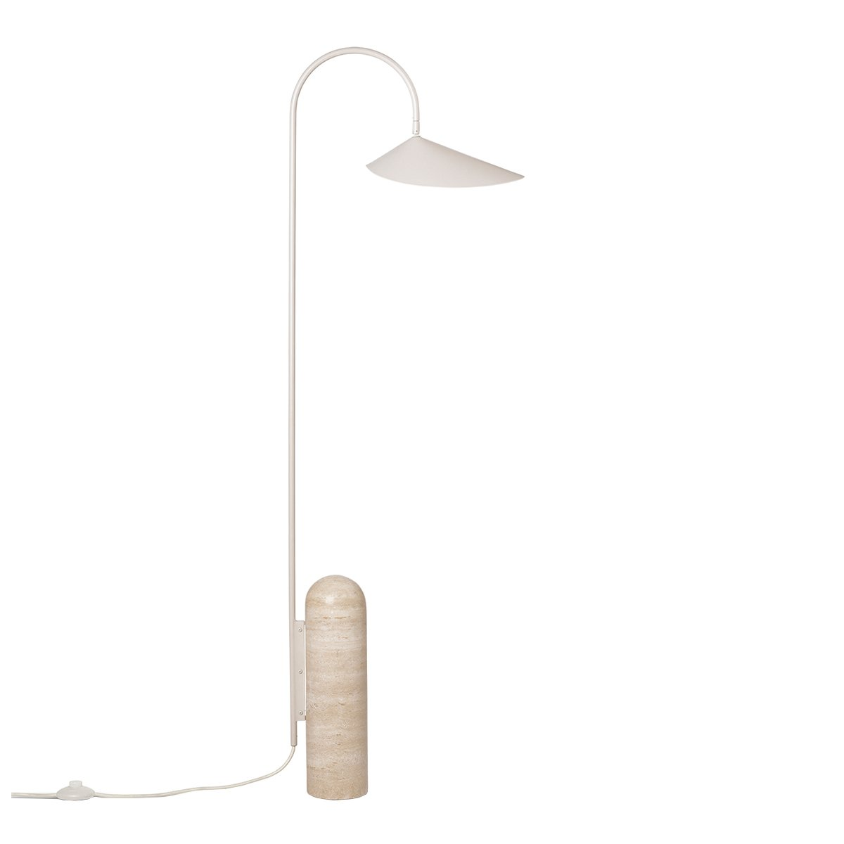 Ferm Living Arum Vloerlamp - Cashmere