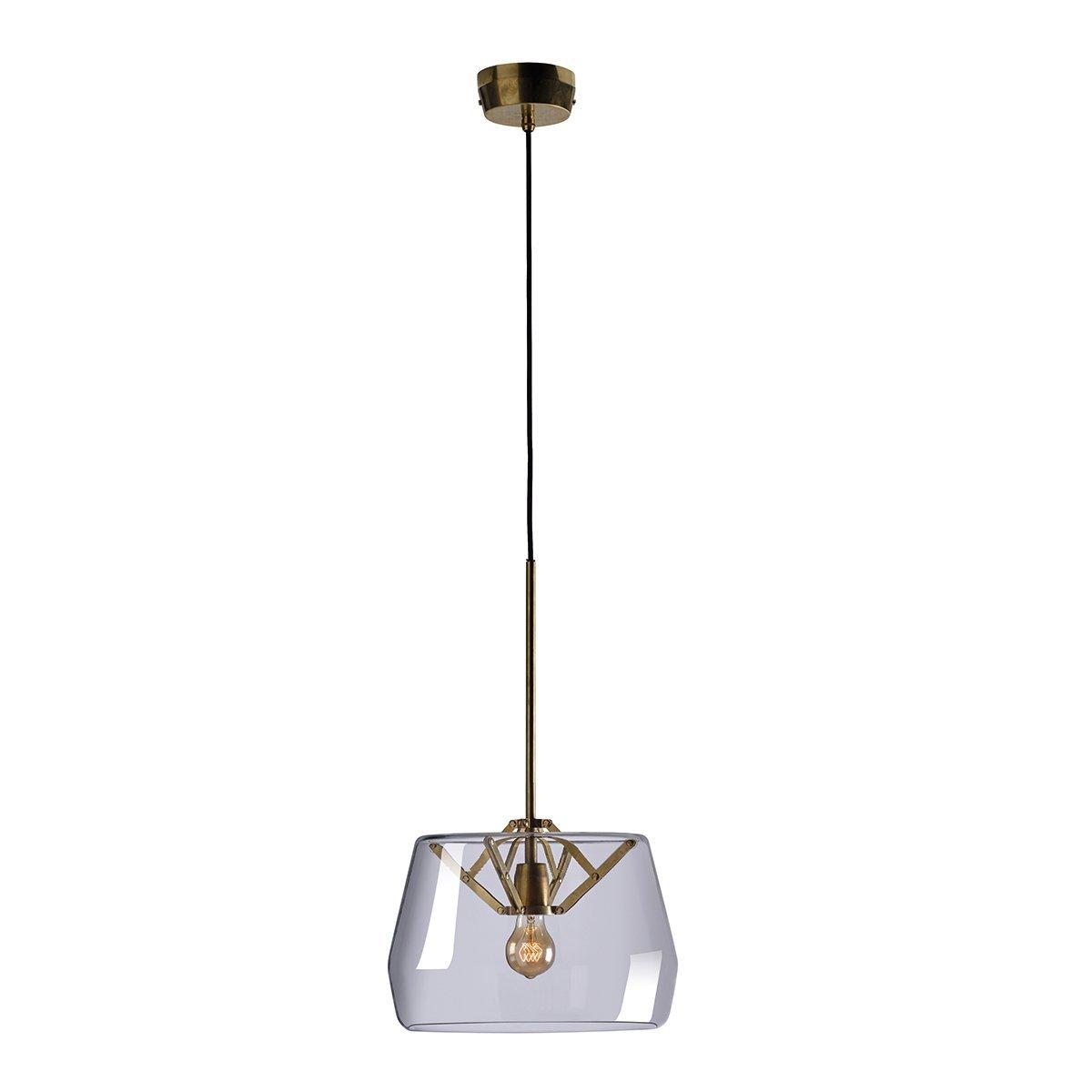 Tonone Atlas Hanglamp - Transparant �35 cm.
