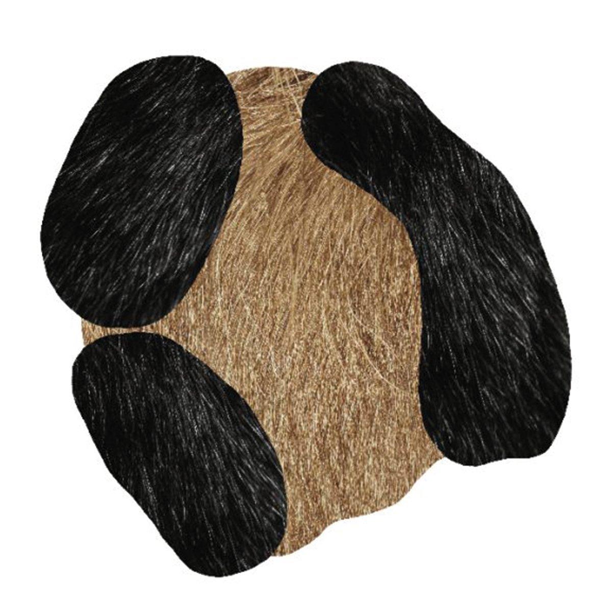 Moooi Carpets - Bearded Leopard Vloerkleed - 150 x 147 cm. - Low Pile