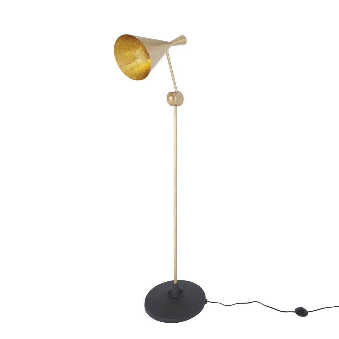 Tom Dixon Beat Floor Brass Vloerlamp Messing