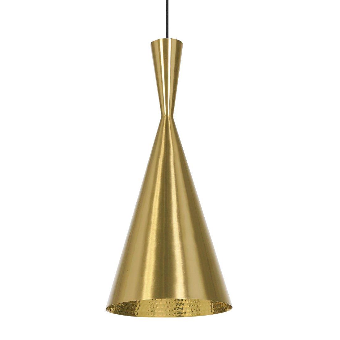 Tom Dixon Beat Tall Hanglamp Brushed Brass