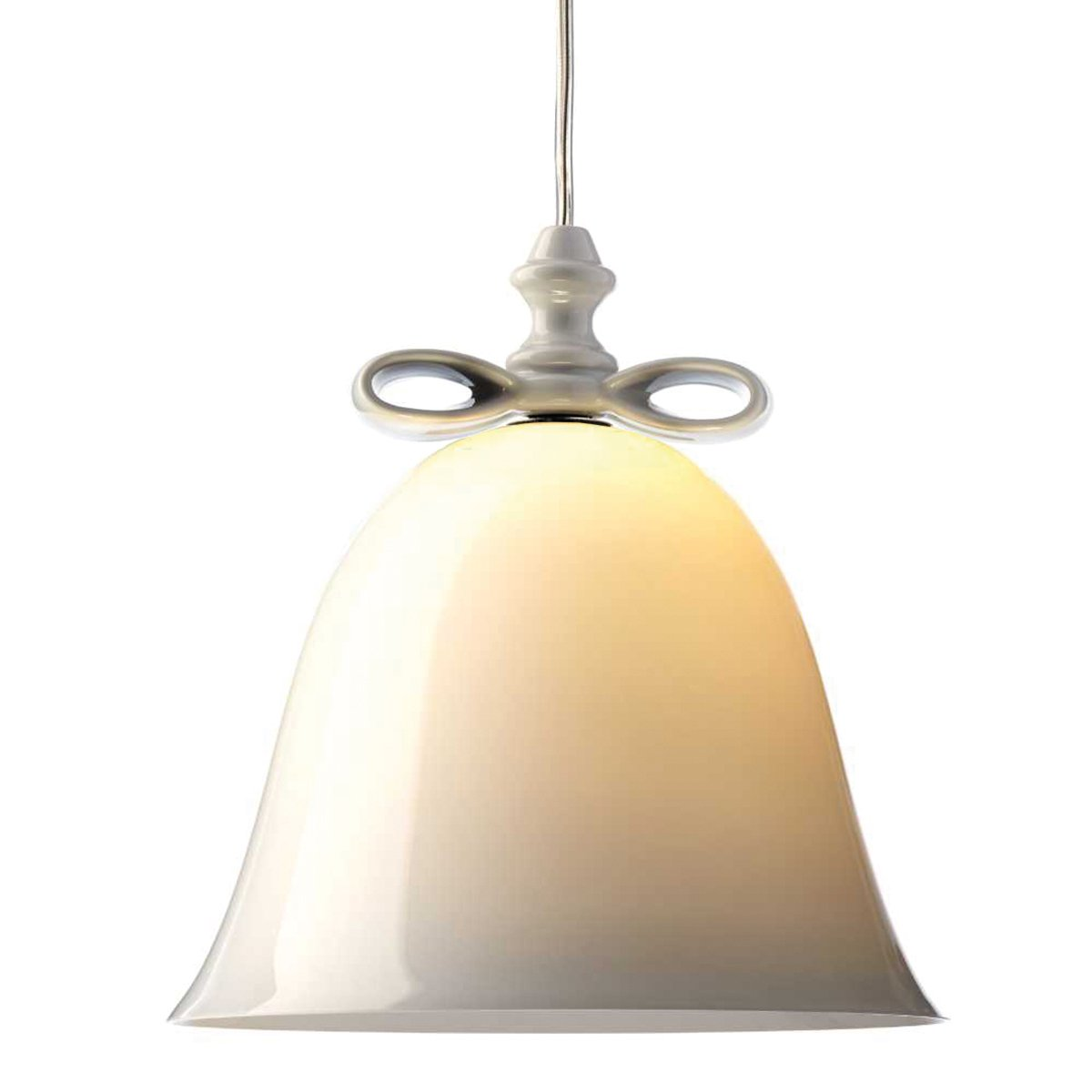 Moooi Bell Hanglamp Small - Wit/Wit