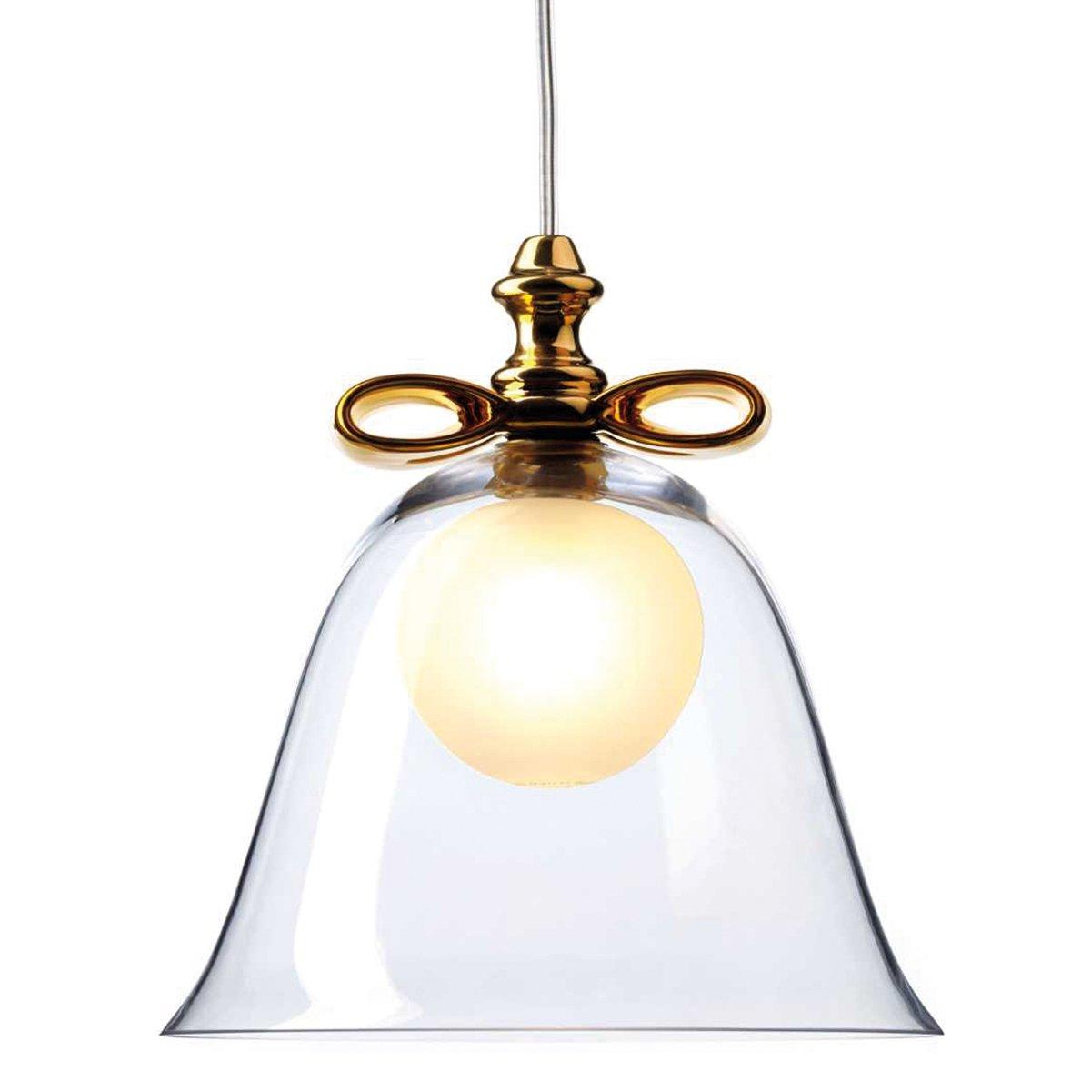 Moooi Bell Hanglamp S Transparant - Goud