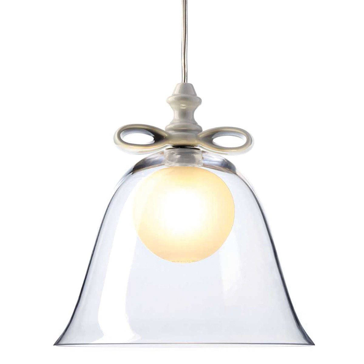Moooi Bell Hanglamp - Transparant/Wit
