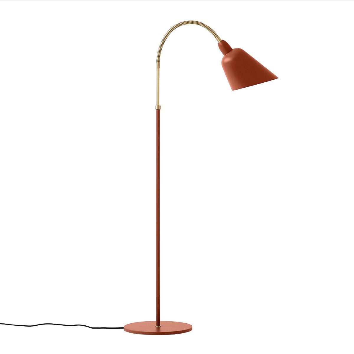 &Tradition Bellevue AJ7 Vloerlamp - Copper Brown / Messing