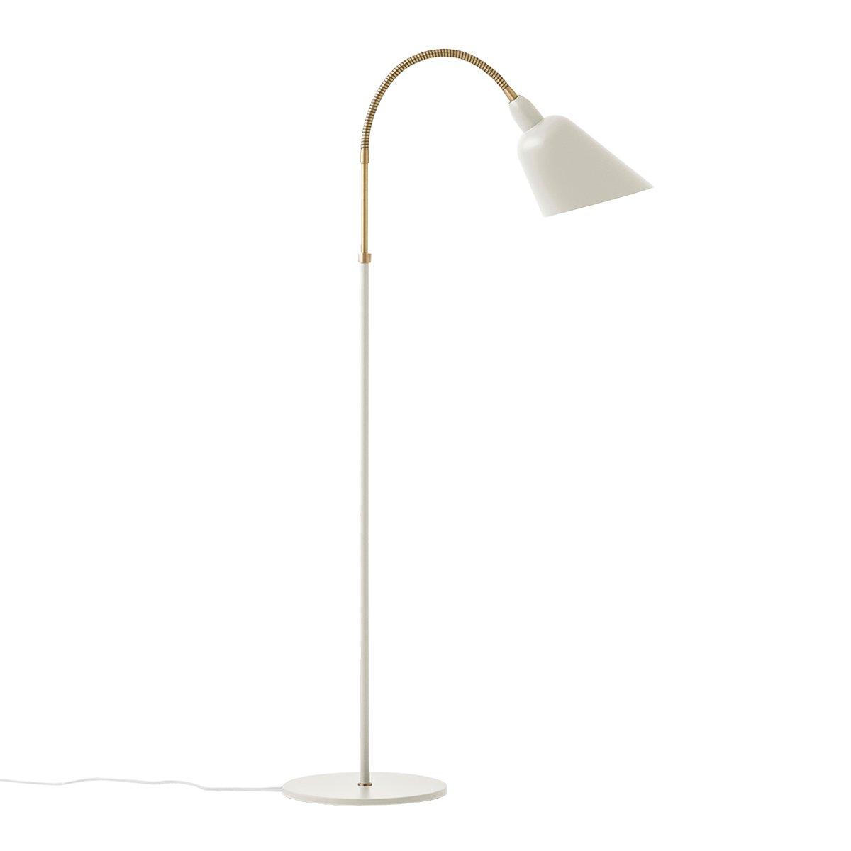 &Tradition Bellevue AJ7 Vloerlamp - Wit / Messing