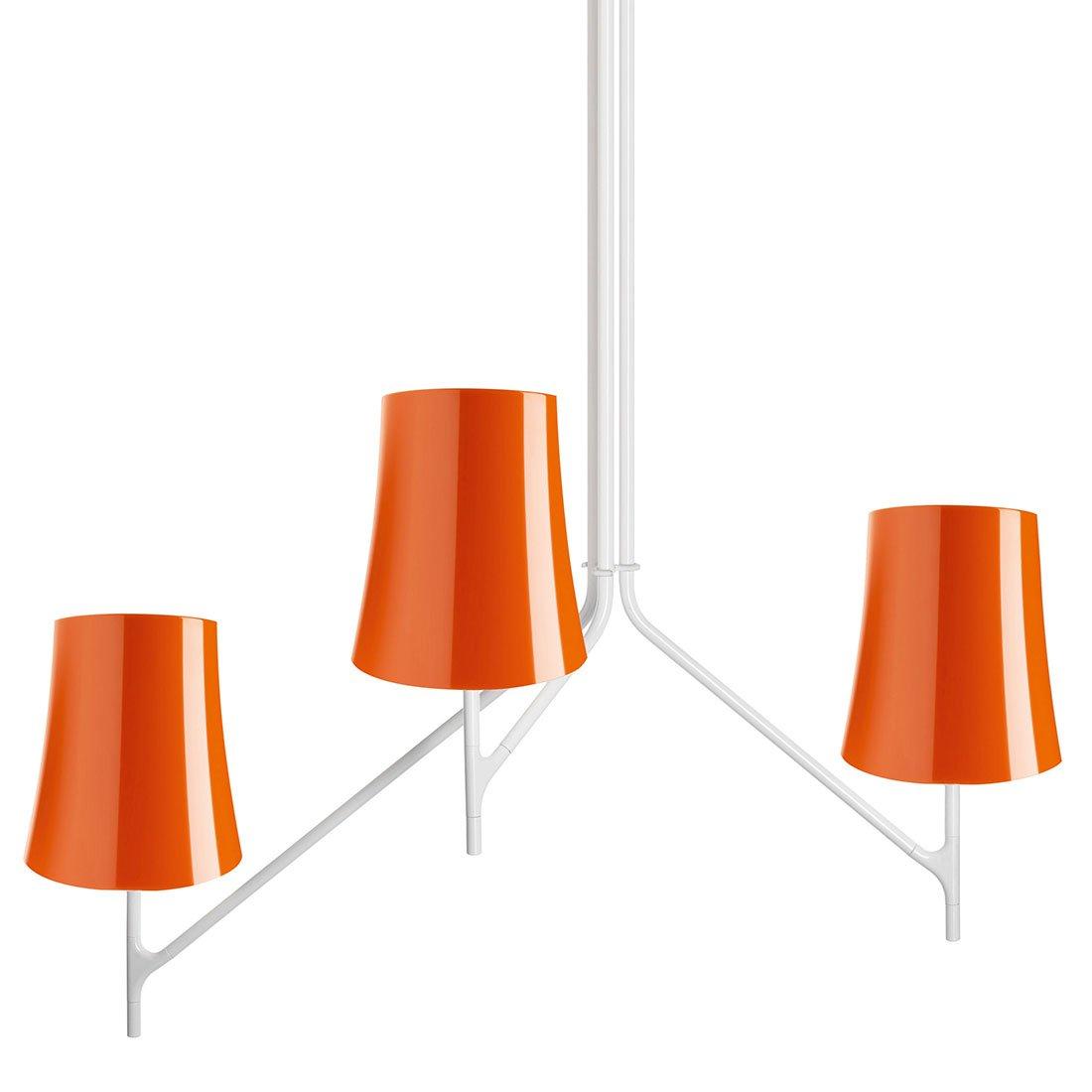 Foscarini Birdie 3 Hanglamp Oranje
