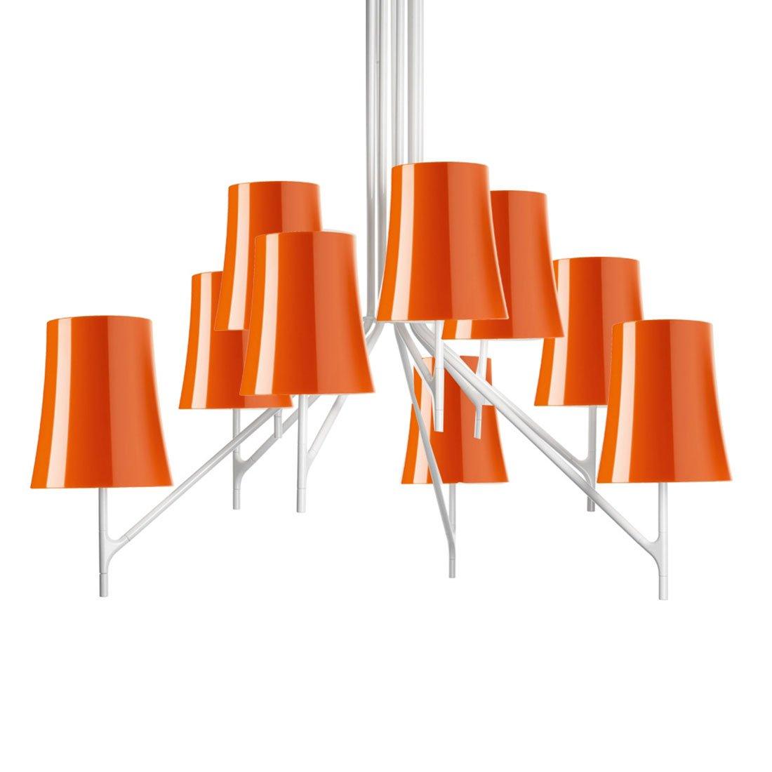Foscarini Birdie 9 Hanglamp Oranje