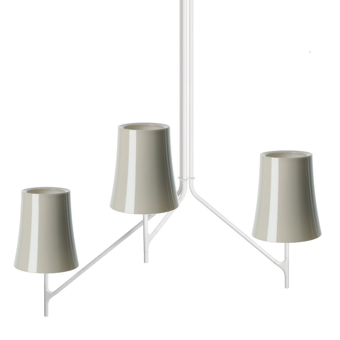 Foscarini Birdie 3 Hanglamp Grijs