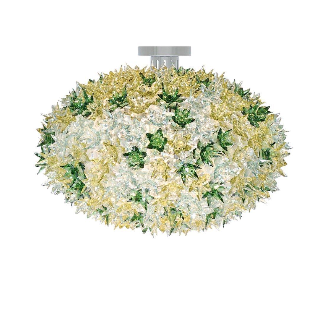 Kartell Bloom C1 Plafondlamp Groen