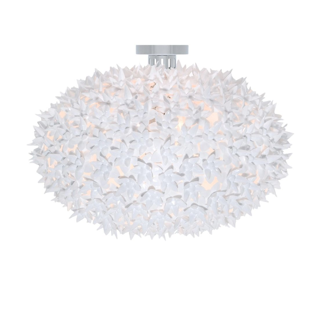 Kartell Bloom C1 Plafondlamp Wit