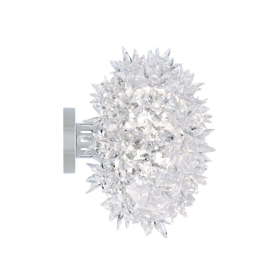 Kartell Bloom CW2 Wandlamp Kristal