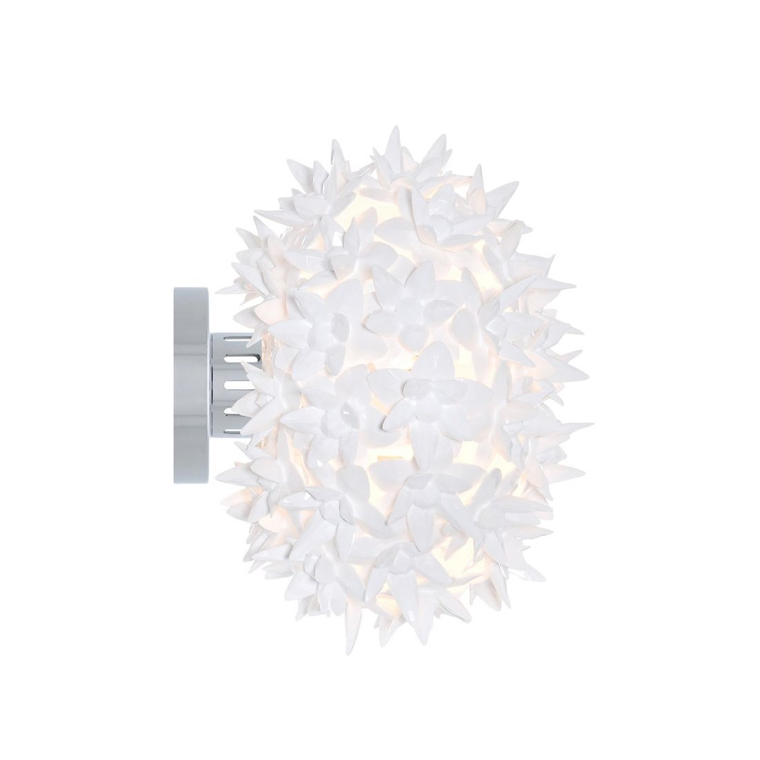 Kartell Bloom CW2 Wandlamp Wit