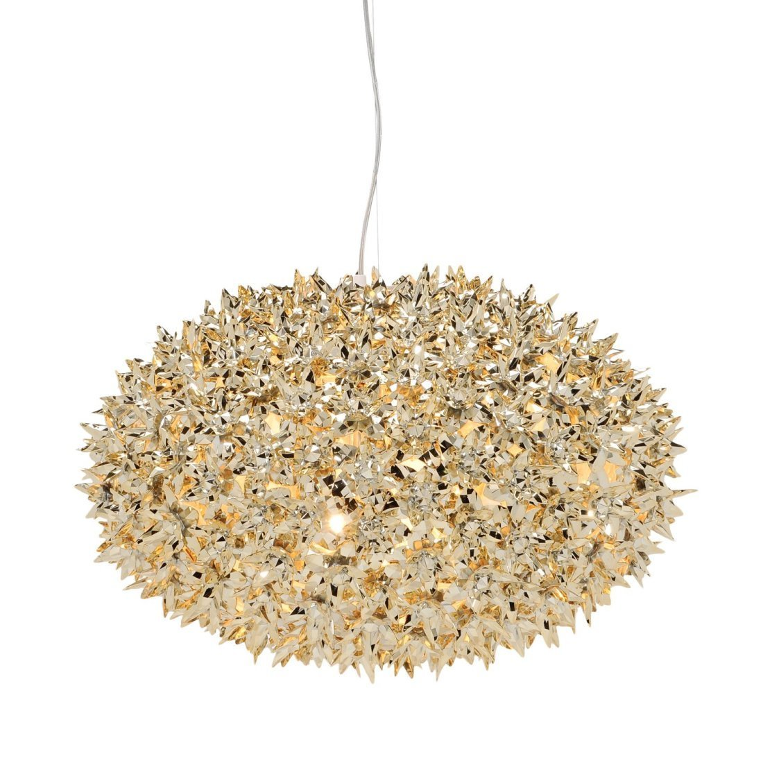 Kartell Bloom S1 Hanglamp Goud