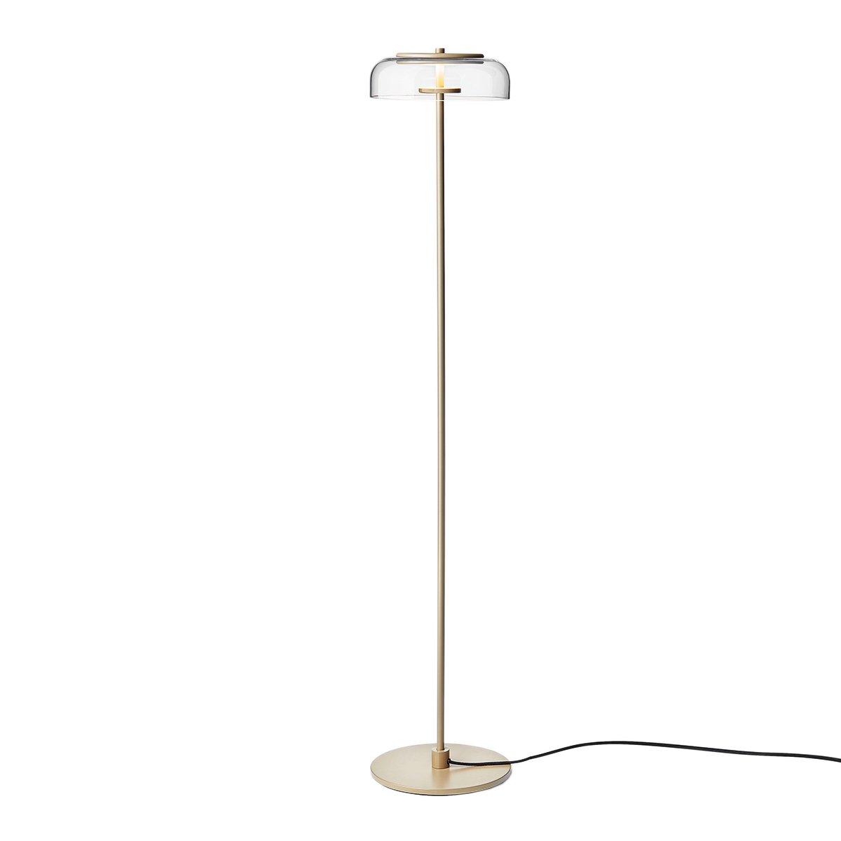 Nuura Blossi Vloerlamp �23 cm. - Nordic Gold - Clear