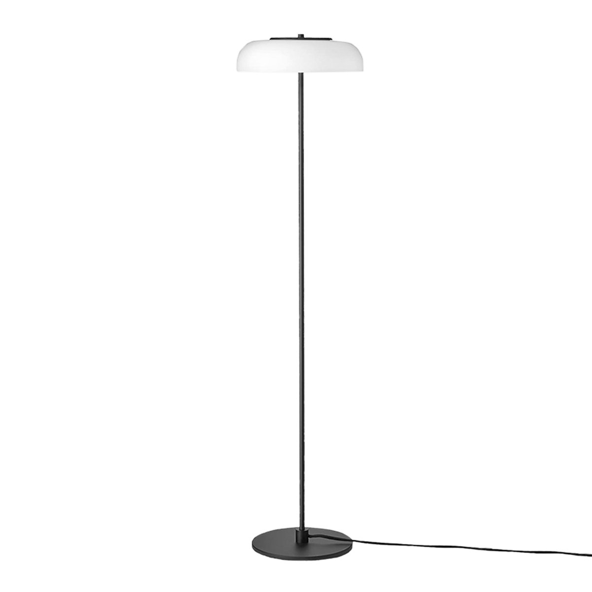 Nuura Blossi Vloerlamp �29 cm. - Black - Opal