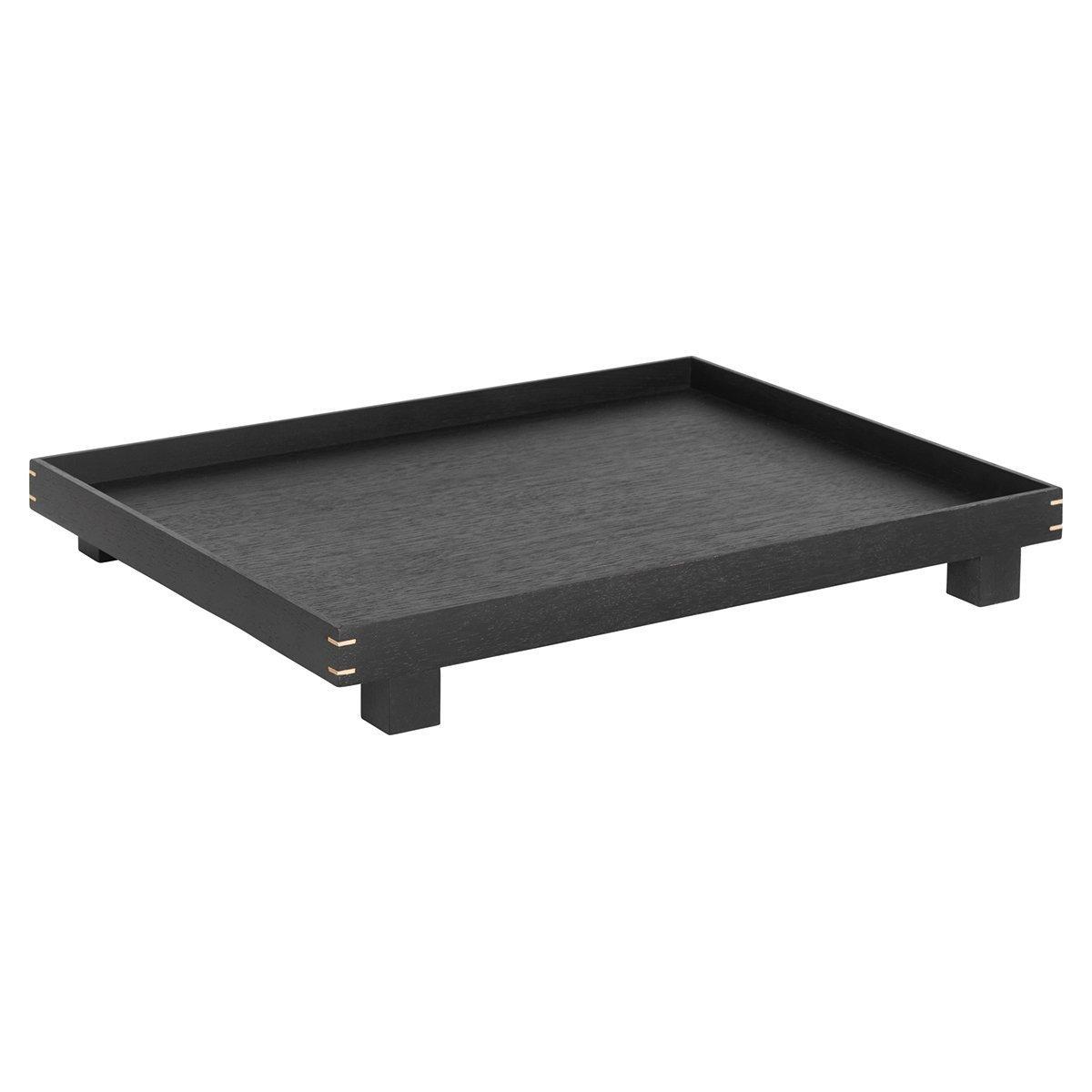 Ferm Living Bon Tray - Zwart Eiken - Large