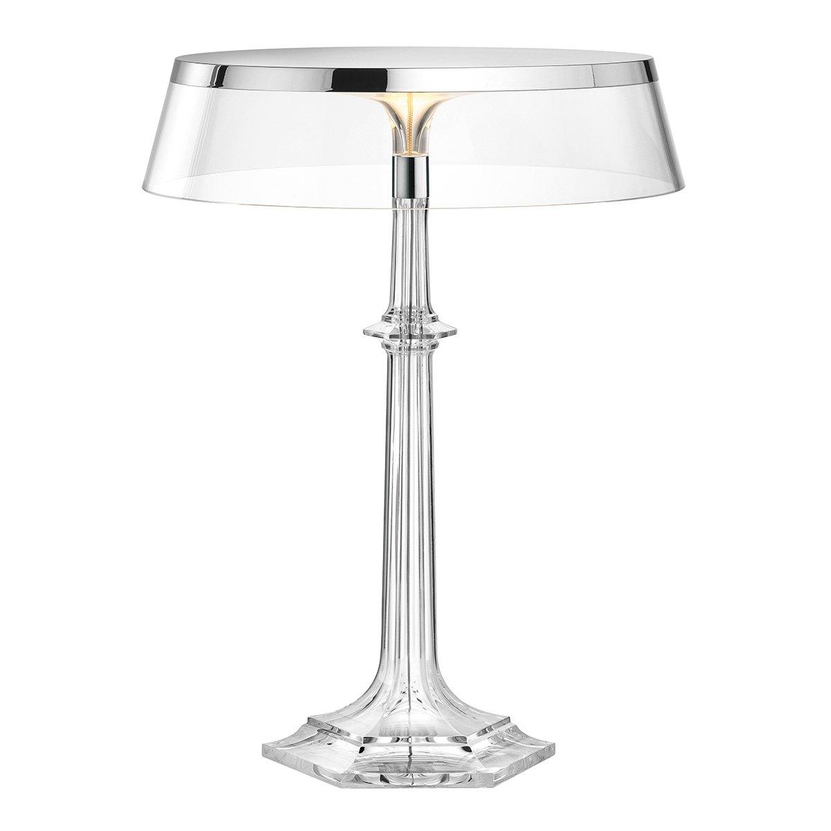 FLOS Bon Jour Versailles Tafellamp - Chroom - Transparant