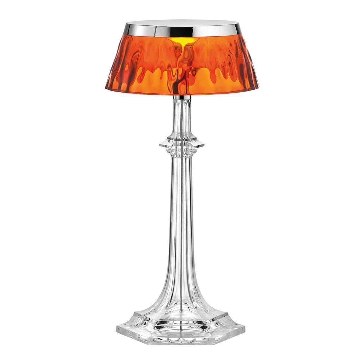 FLOS Bon Jour Versailles Small Tafellamp - Chroom - Amber