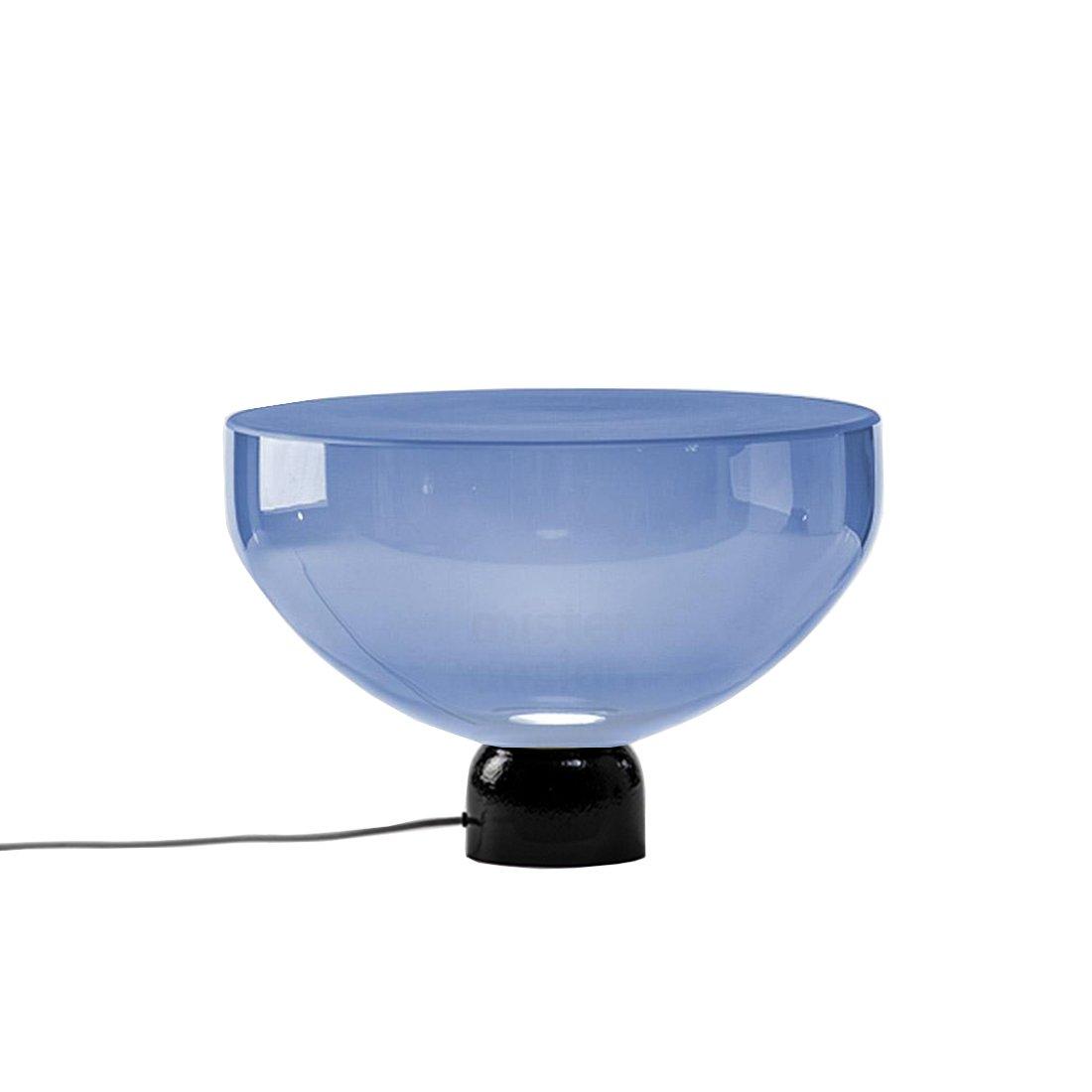 Brokis Lightline L Tafellamp Blauw - Glossy Donkergrijs